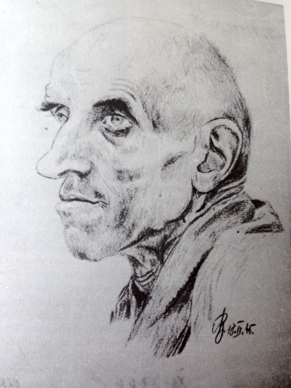 Selbstportrait_Alois_Bucanek_Theresienstadt_1945